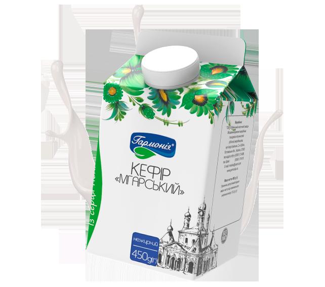 Обновленная линия молочной продукции