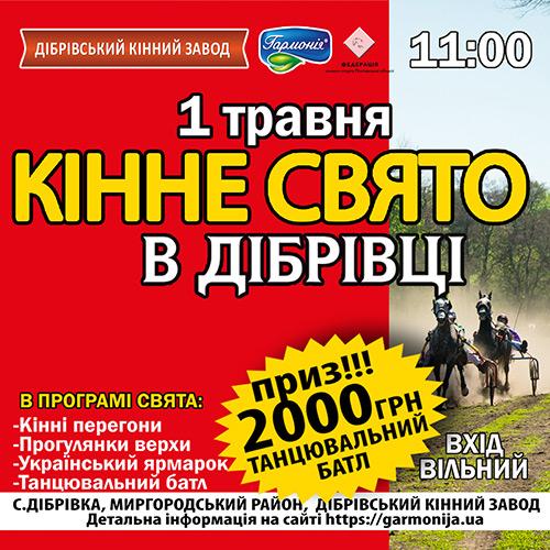 кінно-спортивне свято DIBRIVKA FEST 2019